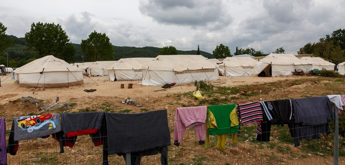 Desde el campo de refugiados de Filippiada: Cuando un niño